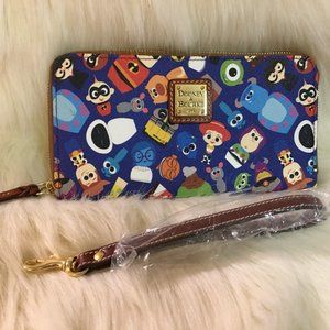 DOONEY & BOURKE Disney PIXAR Clutch Wallet Wristle